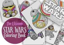 the ultimate star wars coloring book star wars coloring