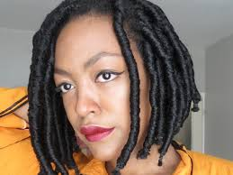 fake dreadlocks black women styles 35 short faux locs and protective goddess locs styles