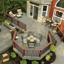 Backyard Deck Ideas Outside Deck Ideas Contemporary Deck Drawings