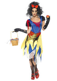 Scary Womens Halloween Costumes Scary Snow Fright Zombie Costume Womens Zombie Costumes