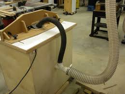 router table dust collection dust collection tips from sticks in the mud woodshop woodworking blog