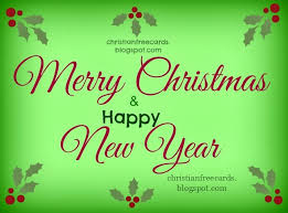 merry happy new year free christian cards