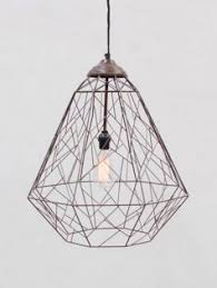 Wire Pendant Light Black Wire Bar Table Modern Furniture Brickell Collection