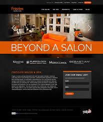 frizzles salon and spa website work piccirilli dorsey