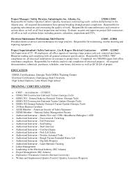 safety professional resume templates magisk co