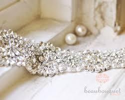 wedding sash swarovski bridal sash rhinestone bridal beaded rhinestone sash
