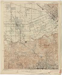 Map Los Angeles California Topographic Maps Perry Castañeda Map Collection Ut