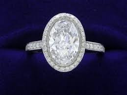 oval depth and table 25 best oval rings images on pinterest rings
