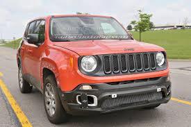 orange jeep patriot 2017 jeep patriot mule spied testing with renegade body
