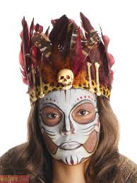 witch doctor fancy dress mens ladies halloween costume