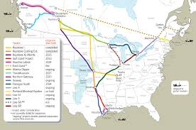 Map Of The Midwest Map Map Of Pipelines In The Us Cdoovision Com