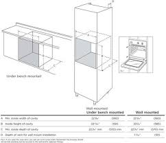 wall oven cabinet width fisher paykel ob24sdpx4 24 inch single wall oven in stainless