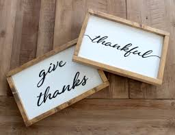 reversible sign give thanks jingle bells