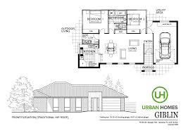 House Designs And Floor Plans Tasmania House Designs Giblin Urban Homes Tasmania House Builders In Hobart
