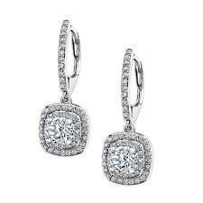 dangle diamond earrings classic dangle diamond earrings jewelry