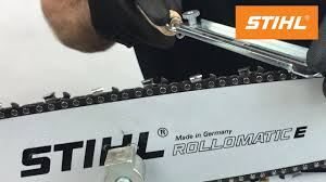 how to sharpen your chain the right way on a stihl chainsaw youtube