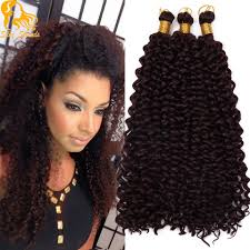 crochet hair aliexpress buy 14 inch curly crochet hair bohemian freetress