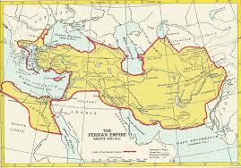 Persia Map Classics Persia Achaemenids Willamette University