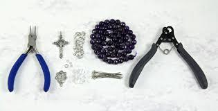 how to make a rosary 1 step looper beadphoria