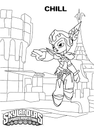skylander coloring page top skylander coloring pages to print
