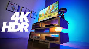 ps4 pro hdr 4k ultimate gaming setup youtube