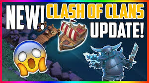 new clash of clans update is here super pekka and builders
