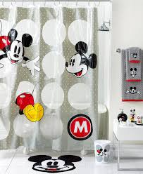 charming mickey and minnie mouse shower curtain also disney mickey