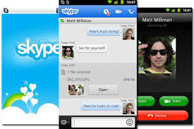 skype android app updated skype app brings calling to android smartphones