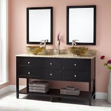 Black Bathroom Vanity With Sink by Black Double Sink Vanity Signature Hardware