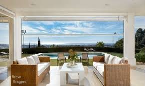 motorized shades motorized screens retractable screens by bravo