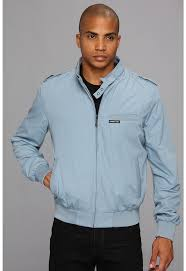 Light Blue Jacket Mens Members Only Iconic Racer Jacket Where To Buy U0026 How To Wear
