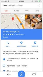 Google Maps Los Angeles Ca by Google Search For Ios Updated With Material Design In App Maps