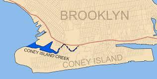 Brooklyn Ny Map File Coney Island Creek Brooklyn Ny Map Png Wikimedia Commons
