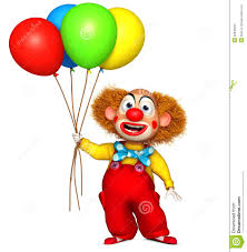 clown balloon clown holding balloon royalty free stock images image 26840329