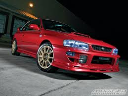 modified subaru 2000 subaru impreza 2 5rs modified magazine