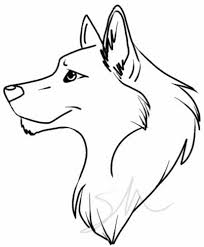 wolf drawing easy best images collections hd for gadget windows