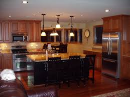 Small Kitchens With Islands Designs Small Kitchen Island With Stools My Home Design Journey