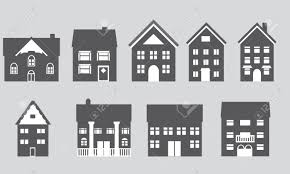 house architecture styles houses with different architectural styles royalty free cliparts