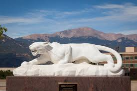 mountain lion statue donor shares personal story during statue rededication uccs