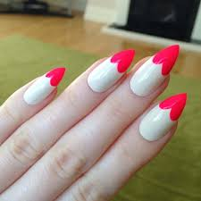 20 majestic pointed nail designs for 2017 u2013 naildesigncode