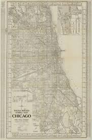 Map Chicago by Chicago Illinois 1920 American Geographical Society Library