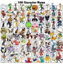 Meme Characters List - 100 favourite characters by reshiramaster on deviantart