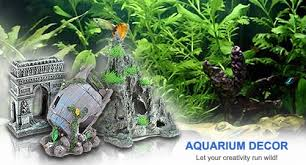 silicone aquarium decor