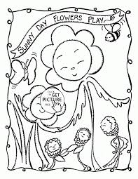 summer day coloring page kids drawing and coloring pages marisa
