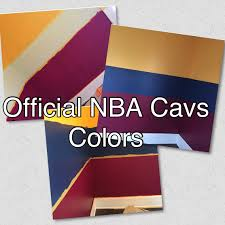 transforming a room with some colors official nba cleveland