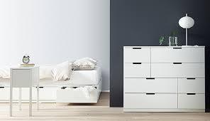 Ikea Bedroom Furniture Dressers by Nordli Series Ikea