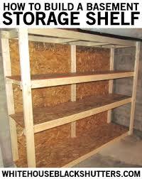 Unfinished Basement Storage Ideas 17 Best Basement Future Images On Pinterest Unfinished