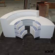 Acrylic Reception Desk Spa Curved Artificial Acrylic Reception Desk Buy Spa Reception