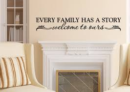 every family has story welcome ours photo wall zoom