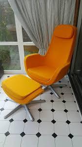 Ikea Malung Swivel Armchair Chair And Footstool Ikea Ikea Chair Recliner Armchair Balcony